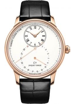 Jaquet Droz Grande Seconde Deadbeat Ivory Enamel J008033200