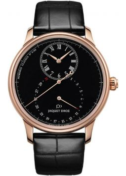 Jaquet Droz Grande Seconde Deadbeat Black Enamel j008033201