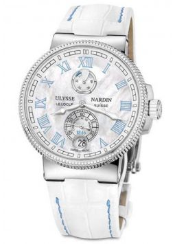 Ulysse Nardin Marine Chronometer Manufacture Ladies 1183-126B/430