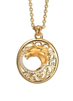 CarreraYCarrera Caballo Necklace DA13404 010101