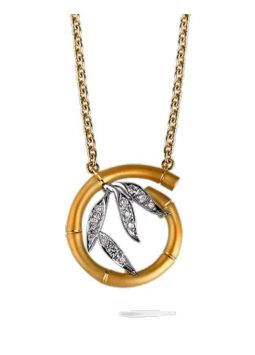 CarreraYCarrera Tao Mini Pendant Necklace DA10609 030101