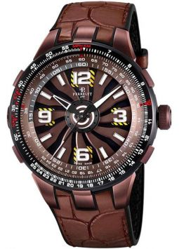 Perrelet Turbine Pilot Brown A1094/2