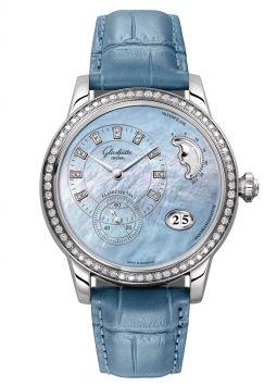 Glashütte Original Panomatic Luna Diamonds Ladies 90-12-03-12-02