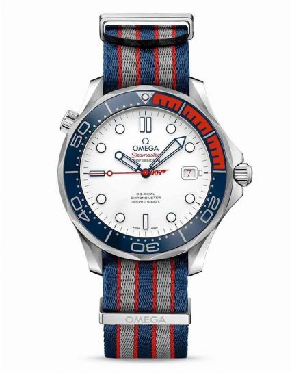 Omega Seamaster Diver Commander's Watch 007 James Bond. 212.32.41.20.04.001