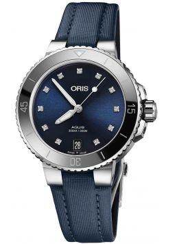 Oris Aquis Date Diamonds 01-733-7731-4195-07-5-18-46fc