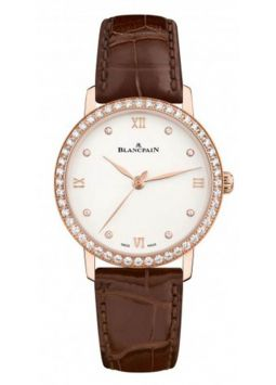 Blancpain Villeret Ultra Slim Ladies 6104-2987-55A