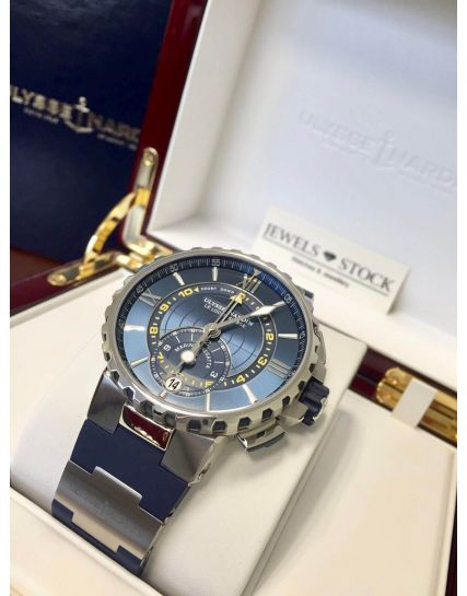 Ulysse Nardin Marine Regatta Chronograph Blue 1553-155-3/43