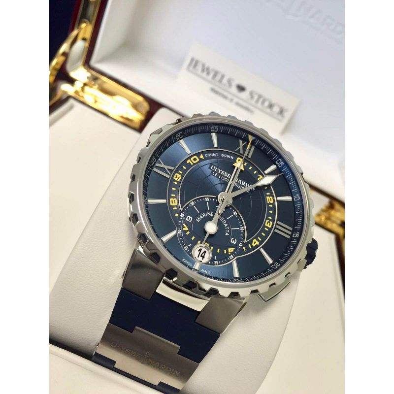 Ulysse Nardin Marine Regatta Chronograph Blue 1553 155 3