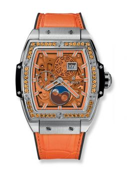 Hublot Moonphase Orange Titanium 647.NX.5371.LR.1206