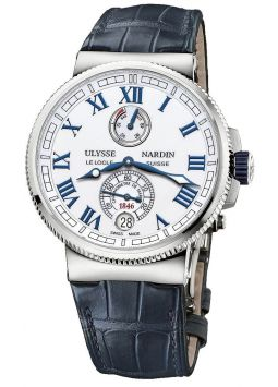 Ulysse Nardin Marine Chronometer Manufacture 43mm 3243-222/393