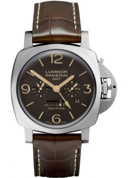 Panerai Luminor 1950 Equation of Time 8 Days GMT Titanio PAM00656