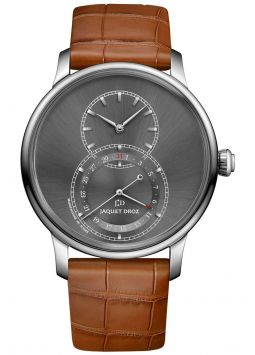 Jaquet Droz Grande Seconde Quantième Satin-brushed Anthracite J007030248
