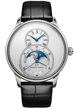 Jaquet Droz Grande Seconde Moon Silver J007530240