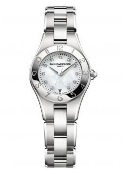 Baume & Mercier Linea Mother of Pearl Dial Diamond M0A10011