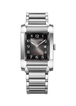 Baume & Mercier Hampton Black Dial Stainless Steel M0A10021
