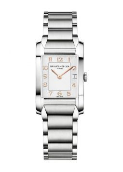Baume & Mercier Hampton Silver Dial Stainless Steel M0A10049