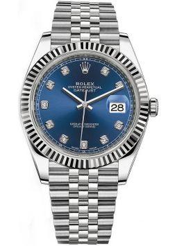 Rolex Datejust 41 Oystersteel/Whitegold 126334