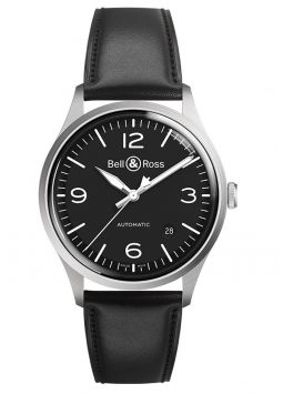 Bell & Ross Vintage Automatic Black Dial BRV192-BL-ST/SCA