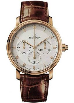Blancpain Villeret Single Pusher Chronograph 6185-3642-55B