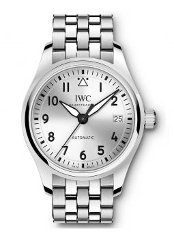 IWC Schaffhausen Pilot Automatic Silver Dial Stainless Steel IW324006