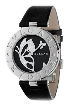 Bvlgari B.zero1 Black Dial With Diamond Inlay Butterfly Motif 101980