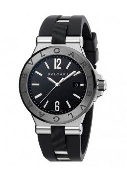Bvlgari Diagono Automatic Black Dial 102029