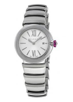 Bvlgari LVCEA Silver Opaline Diamond Dial 102195