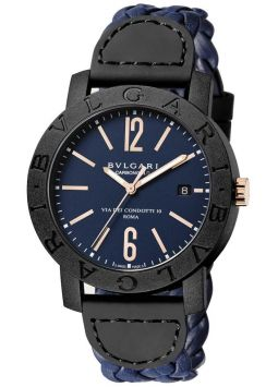 Bvlgari Blue Dial Automatic 102634