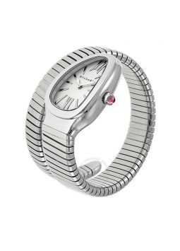 Bvlgari Serpenti Silver Dial Stainless Steel 101817