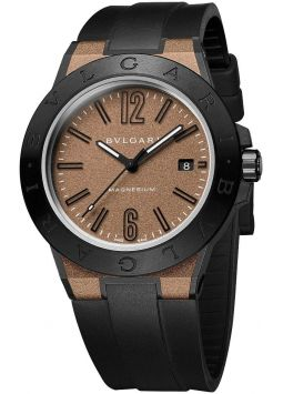 Bvlgari Diagono Magnesium Automatic Brown 102306