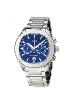 Piaget Polo S Automatic Chronograph Blue Dial G0A41006
