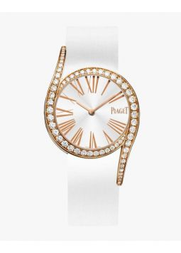 Piaget Limelight Gala Silver Sunray Dial Watch G0A41181