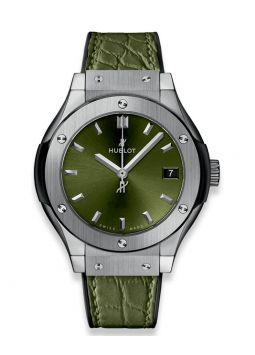 Hublot Classic Fusion Green Titanium 581.NX.8970.LR