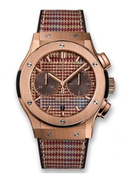 Hublot Chronograph Italia Independent Prince-De-Galles King Gold 521.OX.2709.NR.ITI18