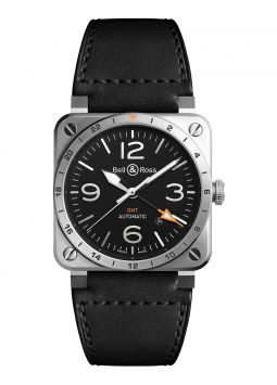 Bell & Ross BR 03-93 GMT BR0393-GMT-ST/SCA