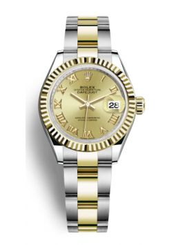 Rolex Lady-Datejust 28mm Champagne 279173