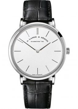 A.Lange&Söhne Saxonia Thin Manual Wind White Gold 201.027