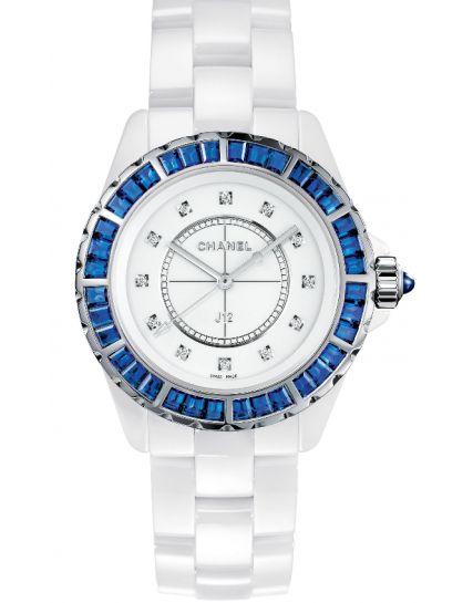 Chanel J12 Diamond White Dial Ladies H3420