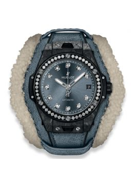 Hublot Big Bang One Click Frosted Carbon Diamonds 465.QK.7170.VR.1204.ALP18