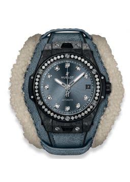 Hublot Big Bang One Click Frosted Carbon Diamonds 465.QK.7170.VR.1204.ALP18
