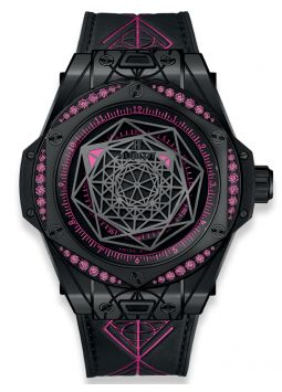 Hublot Big Bang Sang Bleu All Black Pink 465.CS.1119.VR.1233.MXM18
