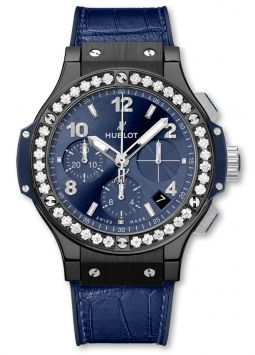 Hublot Big Bang Ceramic Blue Diamonds 341.CM.7170.LR.1204