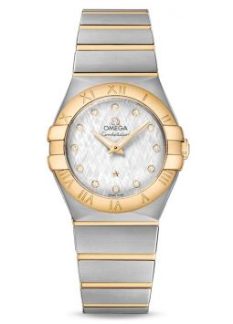 Omega Constellation Brushed 12320276052001