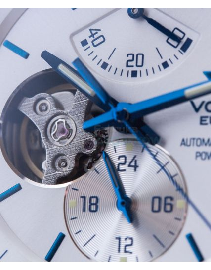 Vostok Europe Gaz 14 Limousine Power Reserve Open Heart Automatic YN84-565E552