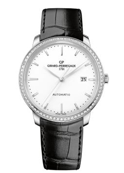 Girard-Perregaux 1966 40mm Diamond Bezel 49555D11A131-BB60