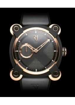 Romain Jerome Moon Invader Auto Black PVD / 5N RJ.M.AU.IN.004.01