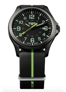 Traser Traser P67 Officer Pro GunMetal Black/Lime 107426