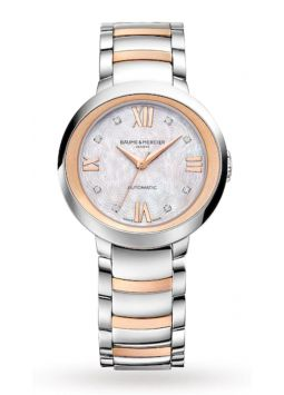 Baume & Mercier Promesse Ladies MOP Diamonds M0A10252