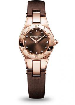 Baume & Mercier Linea Rose Gold Diamonds M0A10090