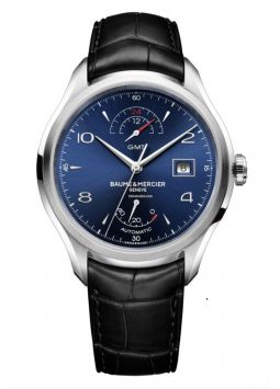 Baume & Mercier Clifton GMT Blue M0A10422